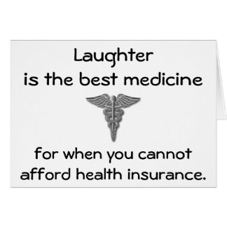 La risa es la mejor medicina para cuando usted 02 tarjeton