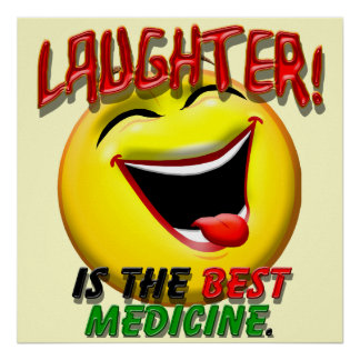 La risa es la mejor medicina impresiones