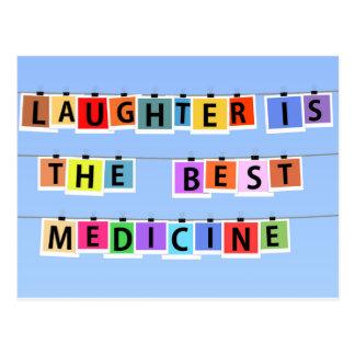 La risa es la mejor medicina postal