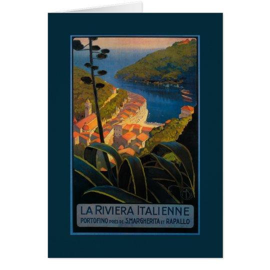 La Riviera Italienne Tarjeta De Felicitación