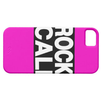 La roca Cali pica de largo iPhone 5 Funda