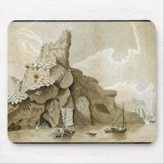 La roca de Quang-Yin Alfombrilla De Ratón
