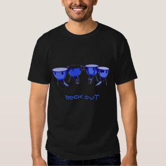 La roca del Timpani hacia fuera junta con te Camisetas