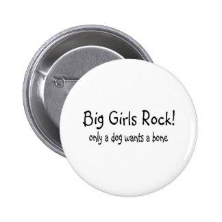 La roca grande de los chicas solamente un perro qu chapa redonda 5 cm