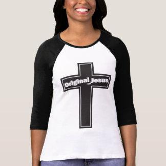 La ropa cristiana de las mujeres camiseta
