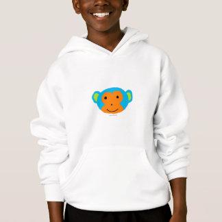 La ropa del niño principal del mono