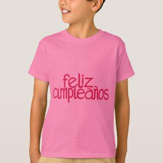 La rosa fuerte de Feliz Cumpleaños embroma la Camiseta