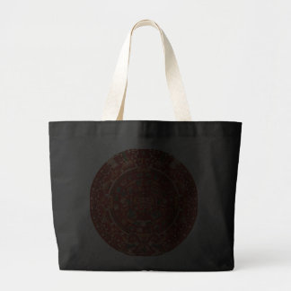 La rueda (azteca) maya del calendario bolsa tela grande