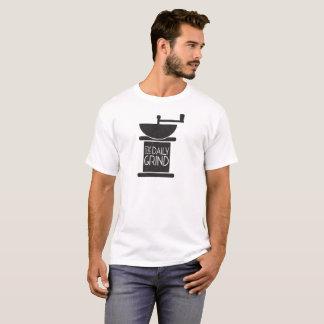 La rutina diaria del café camiseta