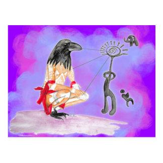 La sabiduría es comunión sagrada tarjeta postal