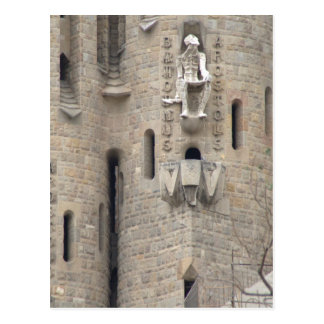 La Sagrada Família, Barcelona Postal