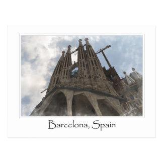 La Sagrada Familia en Barcelona España Postal