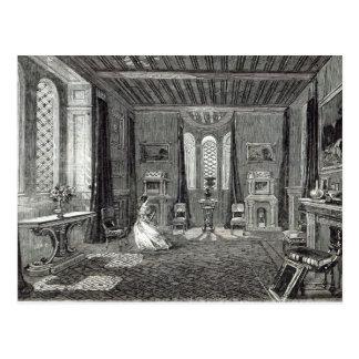 La sala del escarlata, torre de Lansdown Postal