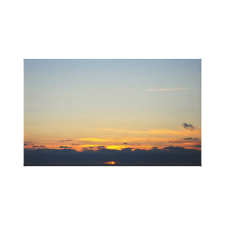 La salida del sol estiró la impresión de la lona lona estirada galerias