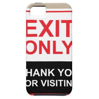 La salida le agradece solamente por vector de la funda para iPhone 5 tough