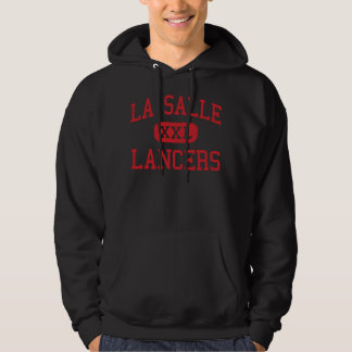 La Salle - lanceros - alto - Pasadena California Pulóver Con Capucha