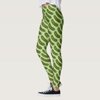 La salmuera de eneldo verde conserva en vinagre leggings