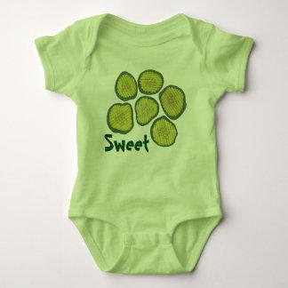 La salmuera verde DULCE salta el regalo kosher de Body Para Bebé