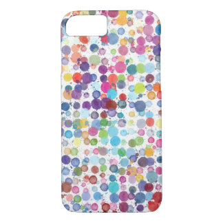 La salpicadura de la pintura salpica funda iPhone 7
