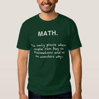 la sandía de la compra del chiste de la camisetas