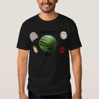 La sandía oficial guerrea engranaje camiseta