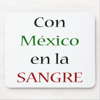 La Sangre del En de México de la estafa Alfombrilla De Ratón