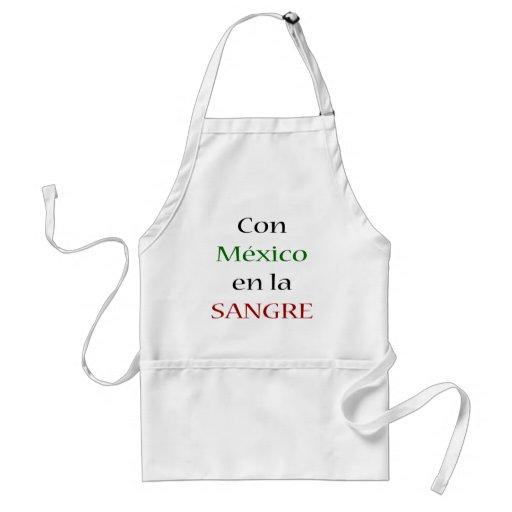 La Sangre del En de México de la estafa Delantales