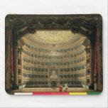 La Scala, Milano, durante un funcionamiento Alfombrilla De Ratón