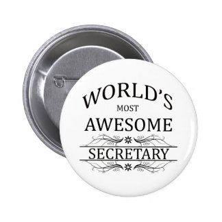 La secretaria más impresionante del mundo pin