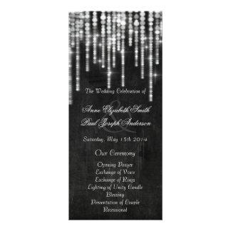 La secuencia de la pizarra enciende programas del folleto publicitario 10 x 22,8 cm