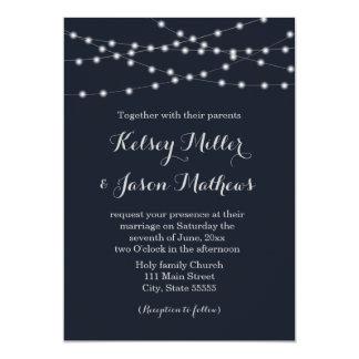 La secuencia enciende la invitación del boda