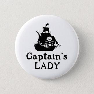 La señora del capitán chapa redonda de 5 cm