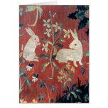La señora y el unicornio: 'Taste Felicitación