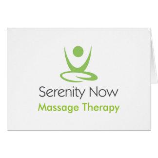 La serenidad ahora da masajes a terapia tarjetón