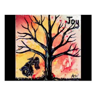 La serie del árbol: Alegría Postal