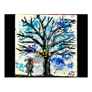 La serie del árbol: Esperanza Postal