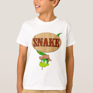 La SERPIENTE embroma la camiseta