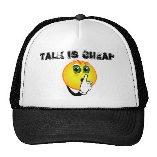 la shhhh-charla es barata gorras de camionero