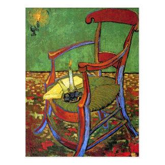 La silla de Gauguin de Vincent van Gogh Postal