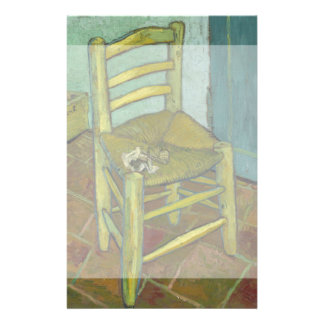 La silla de Van Gogh de Vincent van Gogh Folleto 14 X 21,6 Cm