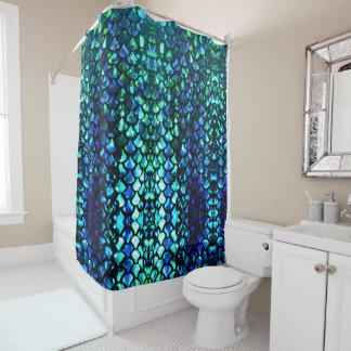 la sirena adaptable escala la cortina de ducha