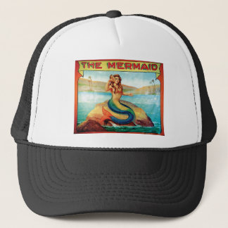 La sirena gorra de camionero