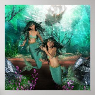 La sirena hermana el poster póster