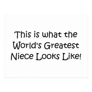 La sobrina más grande del mundo postal