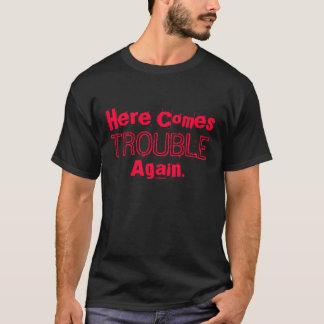 La sociedad del honor aquí viene camiseta del