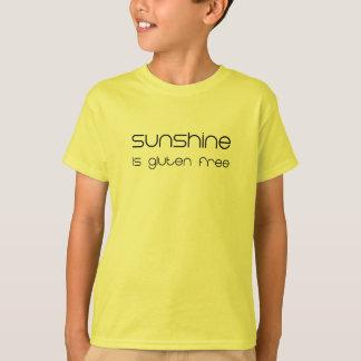 La sol es gluten libre camiseta