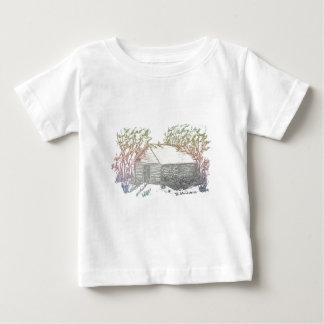 La sombra bendecida del hogar camiseta para bebé