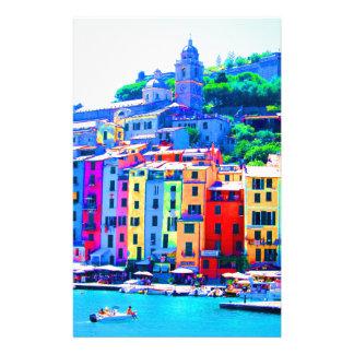 La Spezia de Cinque Terre Papelería De Diseño