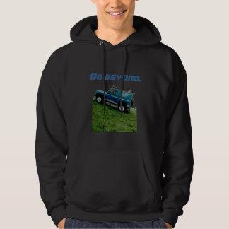 La sudadera con capucha de land rover, va más allá