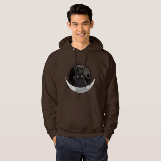 La sudadera con capucha de los hombres de la luna